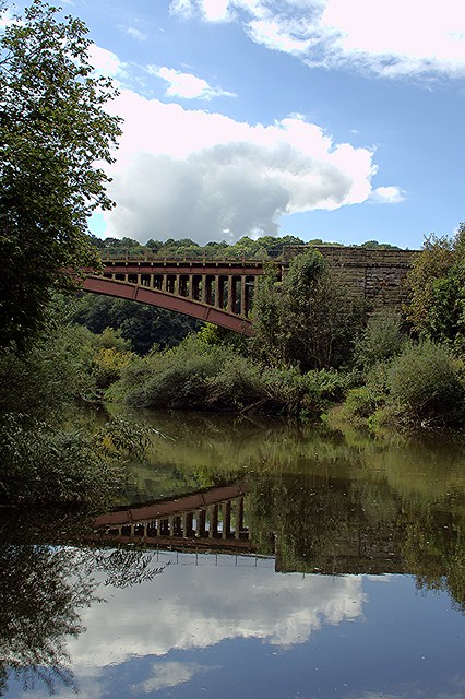 'Time to Reflect' - Victoria Bridge, Near Upper Arley, River Severn, Worcestershire