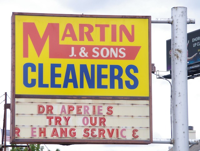 Martin J. & Sons Cleaners, Worth, Illinois.