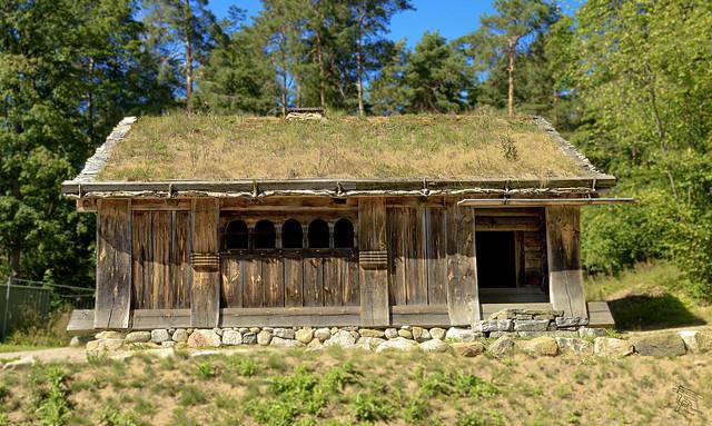 Casa  al Norsk Folkemuseum (I)