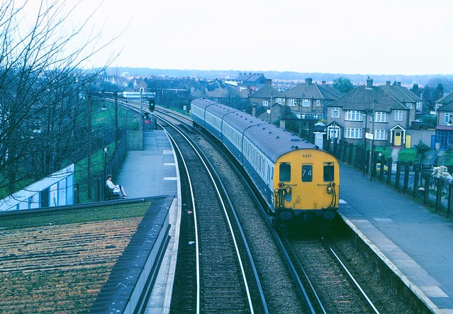 Welling station in 1982