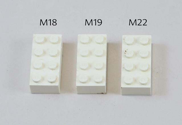 LEGO Wrexham M Test Moulds Photo 7