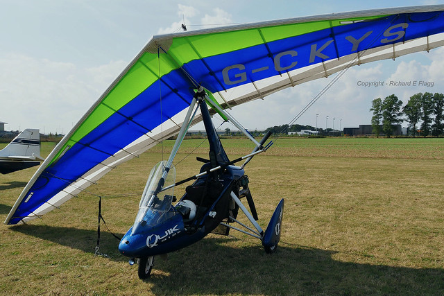G-CKYS : P & M Aviation Quik GT450 at Rougham.