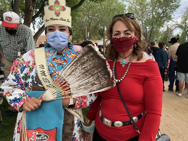 Councilor Borrego - Indian Village Pow Wow Grand Entry at State Fair