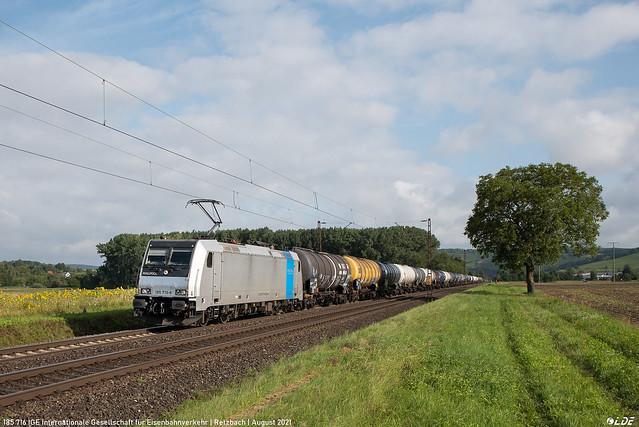 185 716 IGE Internationale Gesellschaft für Eisenbahnverkehr | Retzbach | August 2021