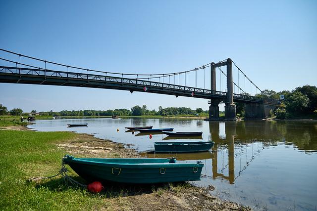 Le pont de Bouchemaine