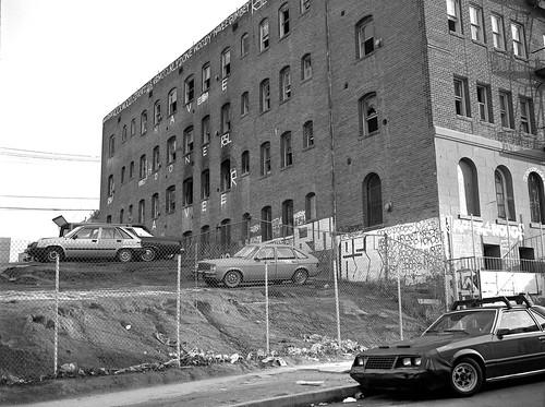 bunkerhill losangeles mediumformat fujigs645s automobileaslandscape 1980s