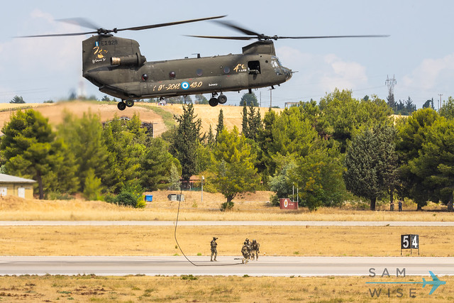 Hellenic Army CH-47SD Chinook ES 929