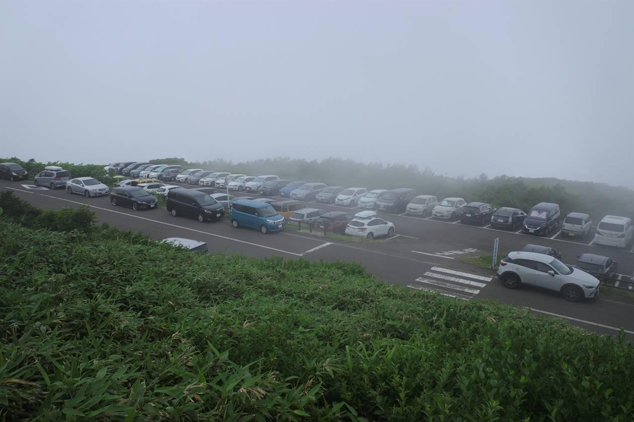 鳥海山・鉾立駐車場