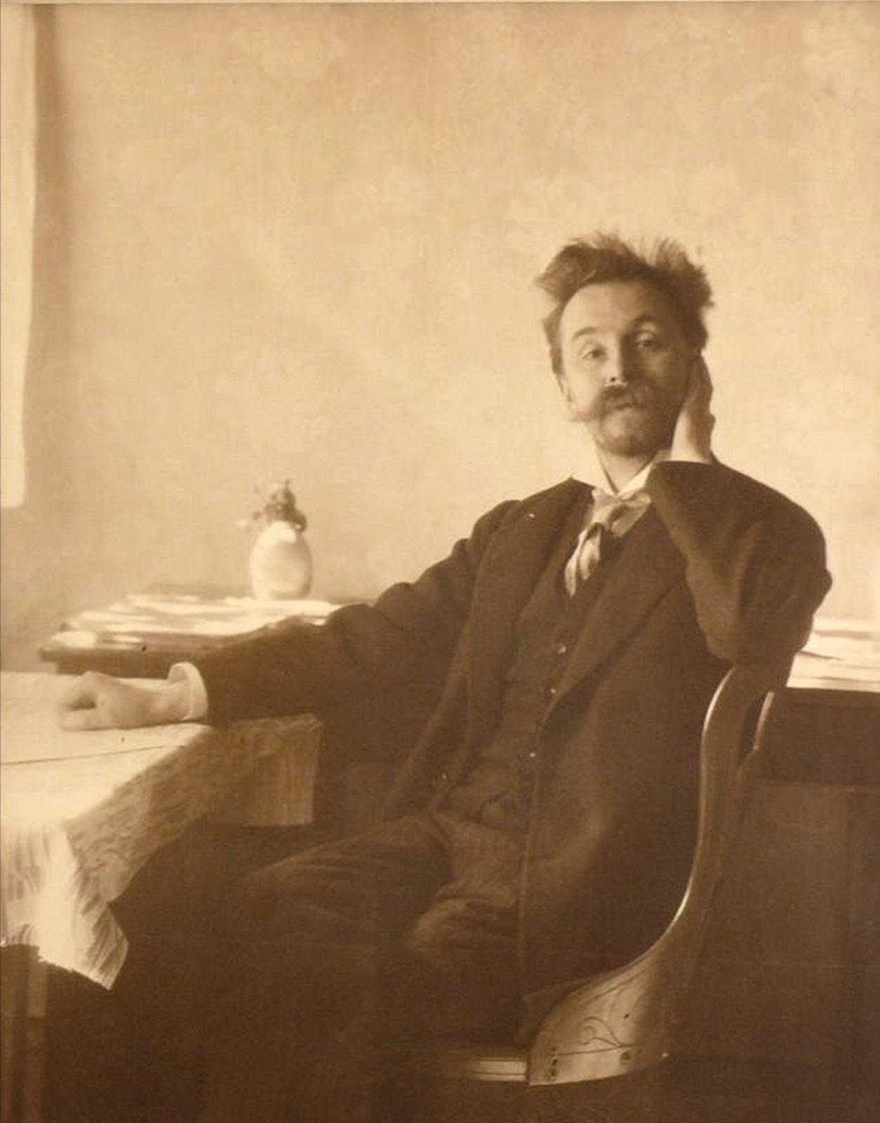 1910.  Скрябин А.Н. после окончания «Прометея»