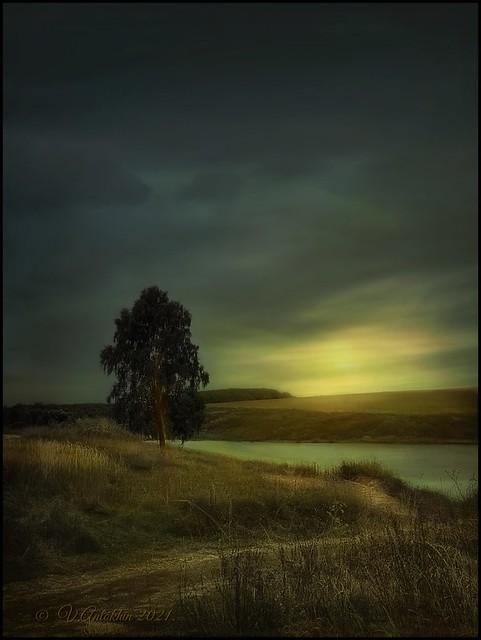 Autumn evening. (IPhoneX)