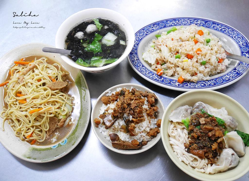 台北素食小吃台北全素小吃寧夏夜市隨緣素食素炒麵素炒飯 (2)