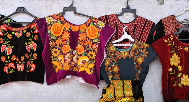 Mexico Oaxaca Huipils Zapotec Textiles