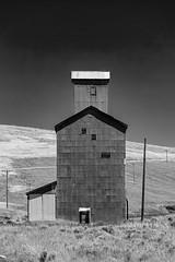 Grain Elevator in Garfield County in Washington State