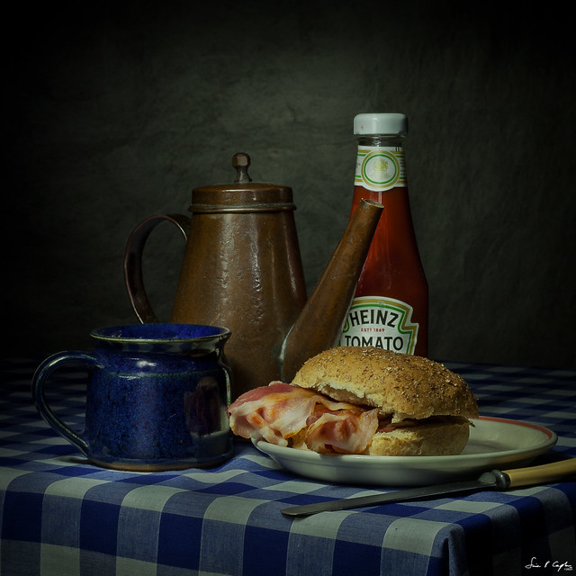 Still Life with Bacon Butty