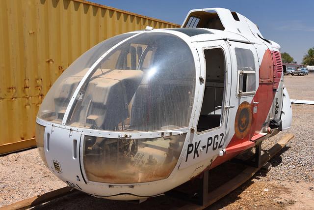 MBB Bo 105C PK-PGU at Eloy, AZ