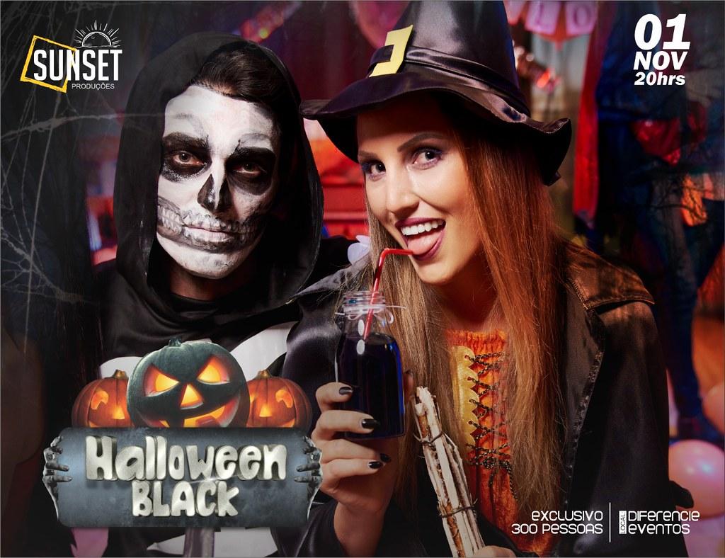 Halloween Black