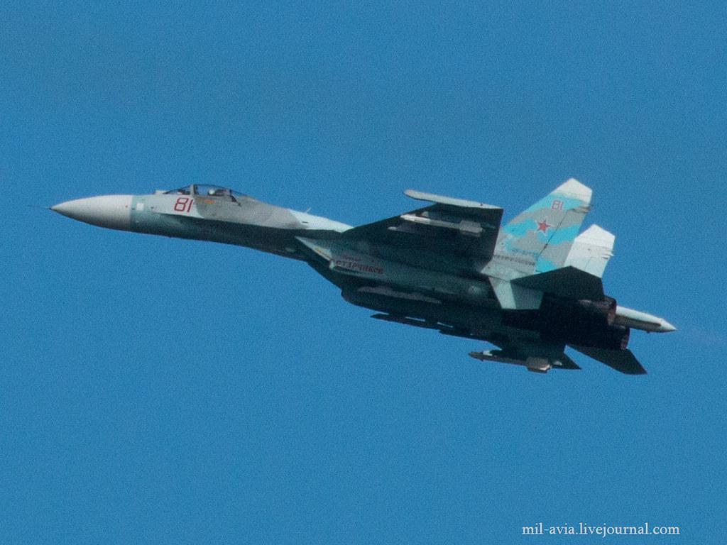 Su-27P 81 RED