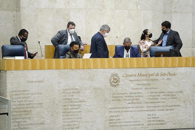 Sessão Plenária Extraordinária - Câmara Municipal de São Paulo - Foto: Afonso Braga