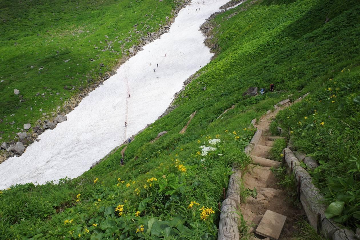 鳥海山 山小屋泊登山(千蛇谷ルート)