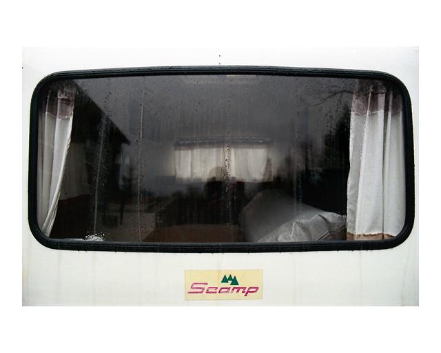 Scamp window, color film version