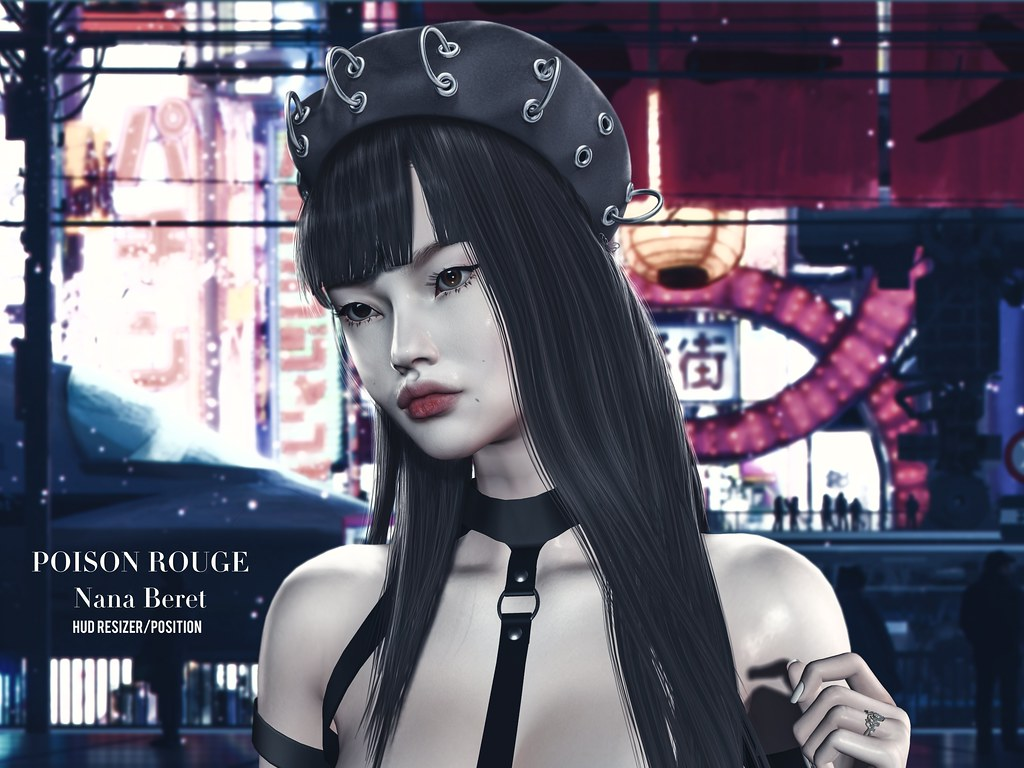 POISON ROUGE Nana Beret @THE WAREHOUSE SALE EVENT