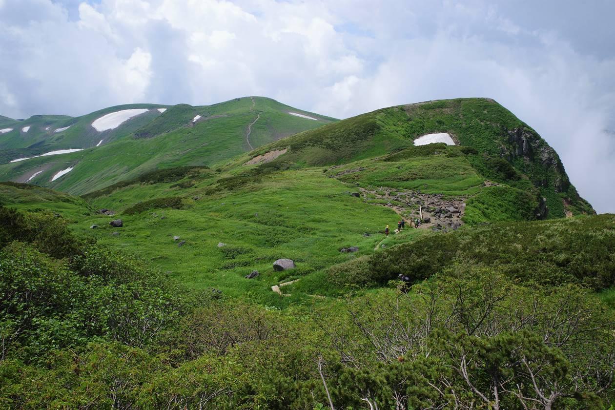 鳥海山 山小屋泊登山(鉾立ルート)