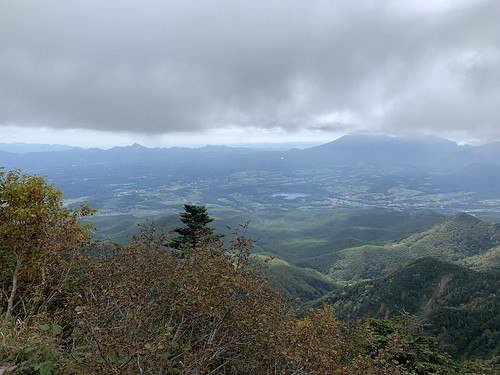四阿山頂からの眺望