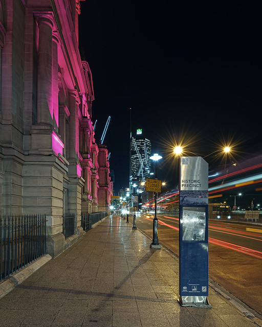 The Treasury and Trailing Lights