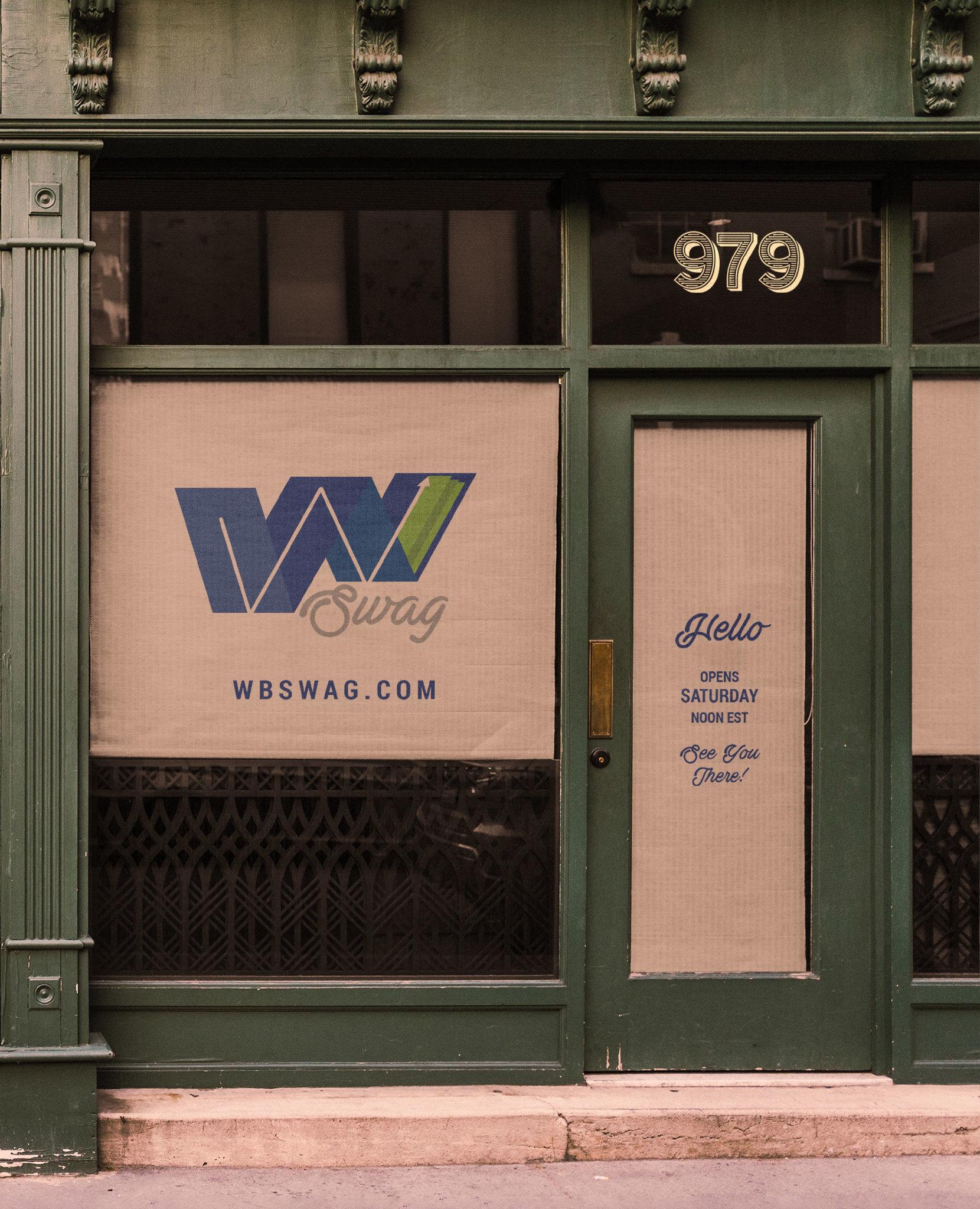 WB Swag Launch Social Media Post