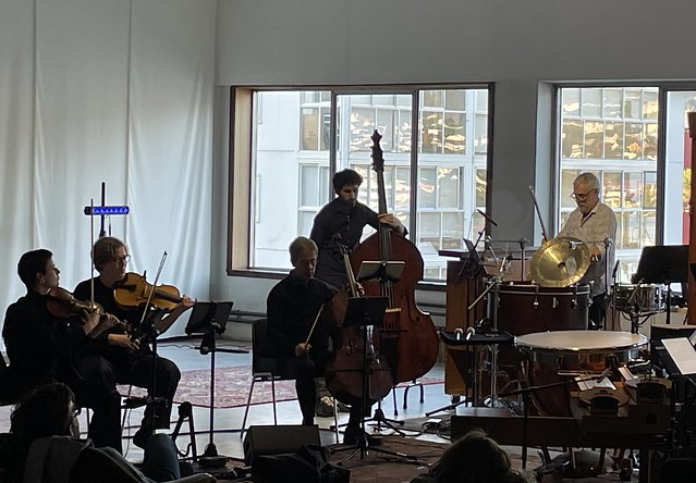 Ingar Zach for Ensemble Musikfabrik «Parts of the horse  are notably present»