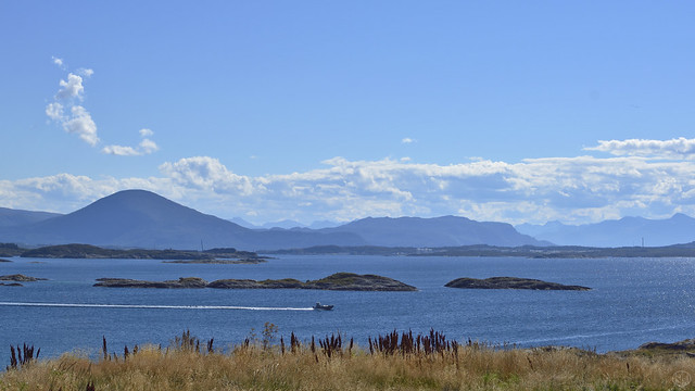 atlantic coast road view