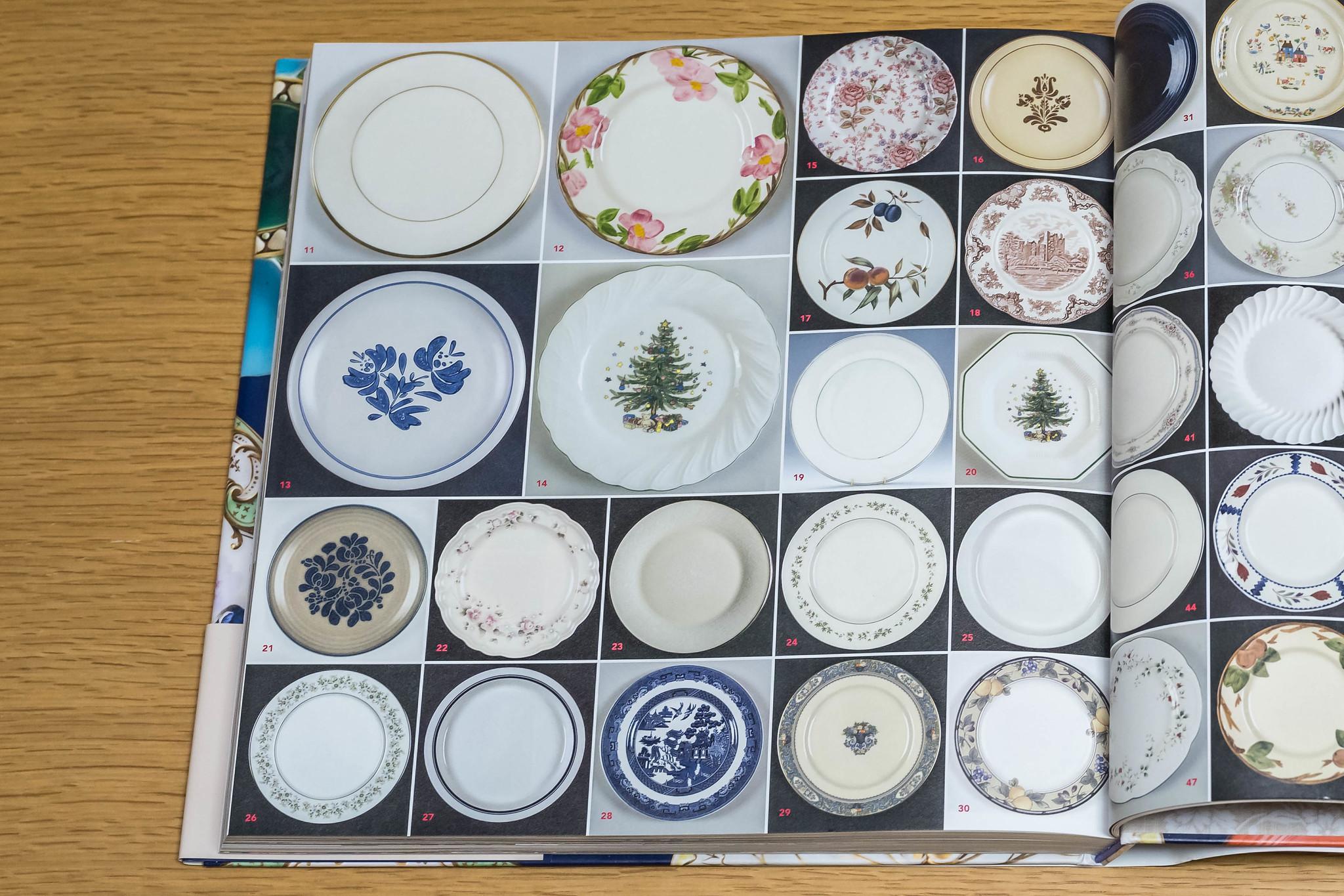 人気図柄100 / 世界でいちばん美しい皿の図鑑