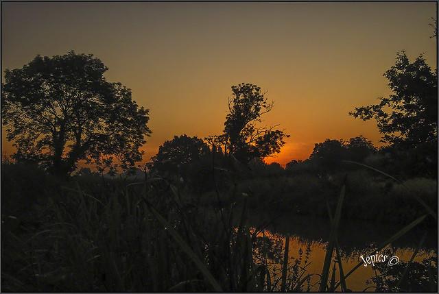 Sunrise Colors..