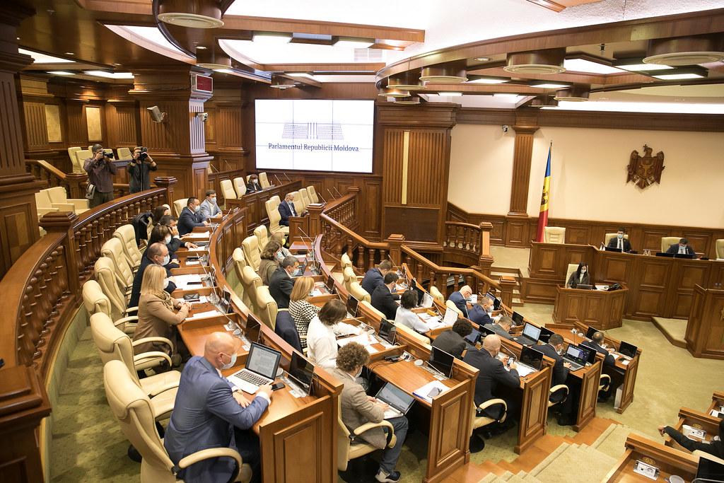 23.09.2021 Ședința plenară a Parlamentului Republicii Moldova