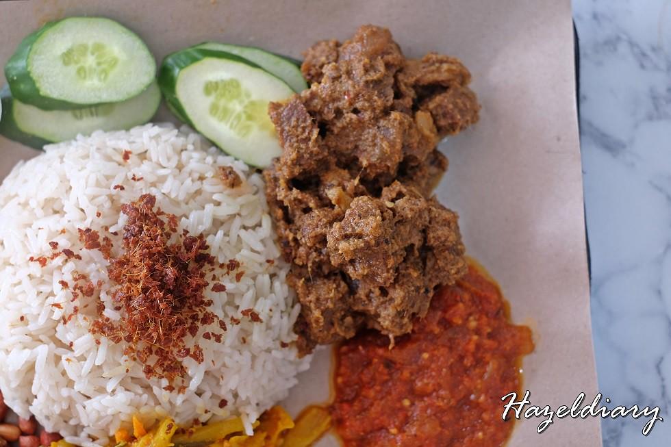 Uptown Nasi Lemak Telok Ayer-Nasi Lemak with Beef Rendang-1