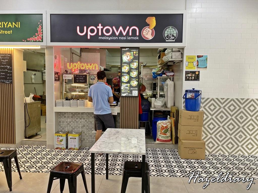 Uptown Nasi Lemak Telok Ayer-Malaysian Nasi Lemak