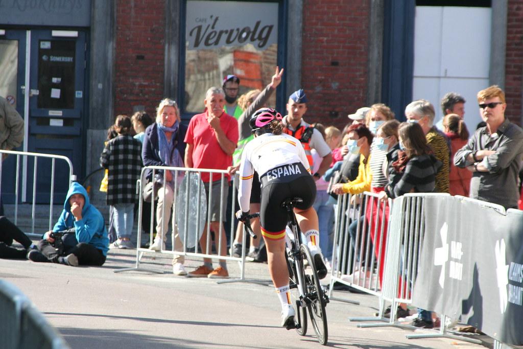 España en el Campeonato Mundial de Ciclismo en Ruta