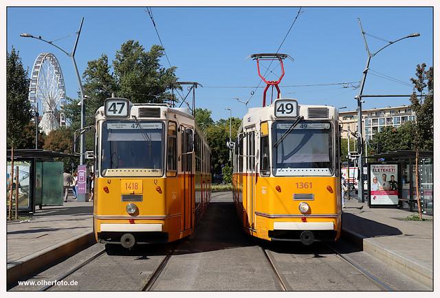Tram Budapest - 2021-04