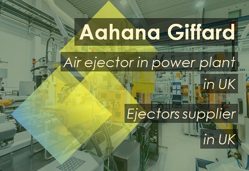 Air ejector in power plant in UK Ejectors supplier in UK