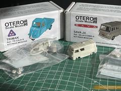 Sava J4 y Motocarro TRIMAK