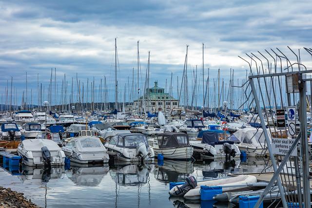 Pier in Oslo - early autumn II (explored)