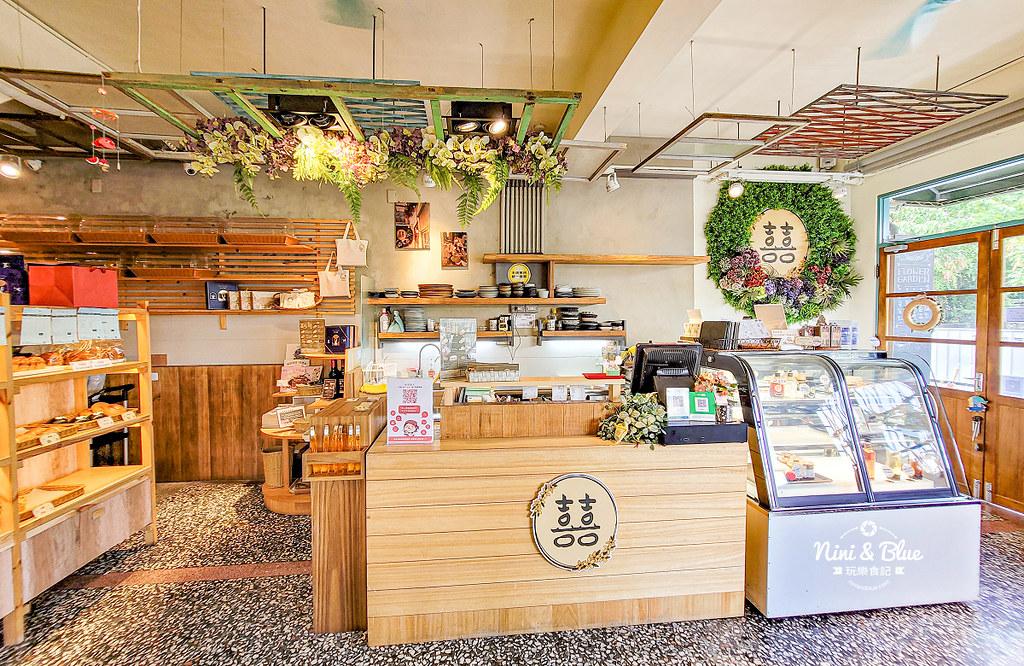 雲林斗六咖啡 花囍麵包甜點03