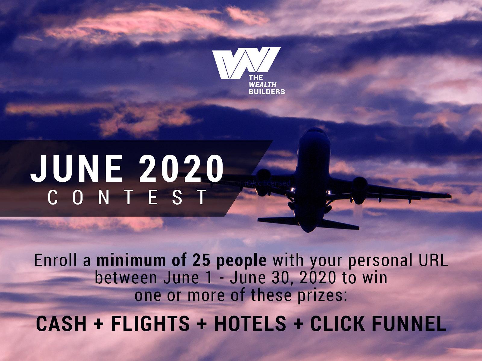 June 2020 Contest Flyer