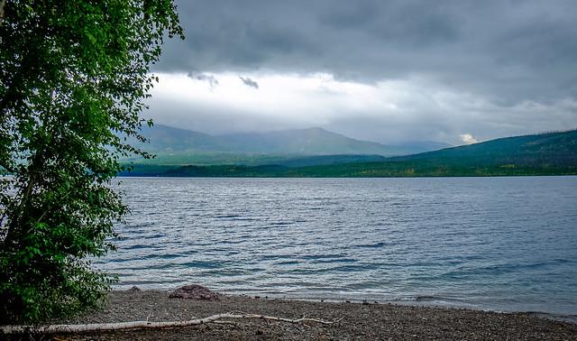 Eerie storm...Lake McDonald