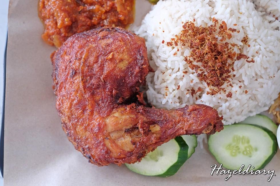 Uptown Nasi Lemak Telok Ayer-Nasi Lemak with Ayam Berempah
