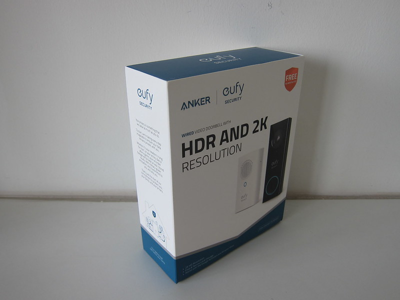 Eufy Video Doorbell 2K (Wired) - Box