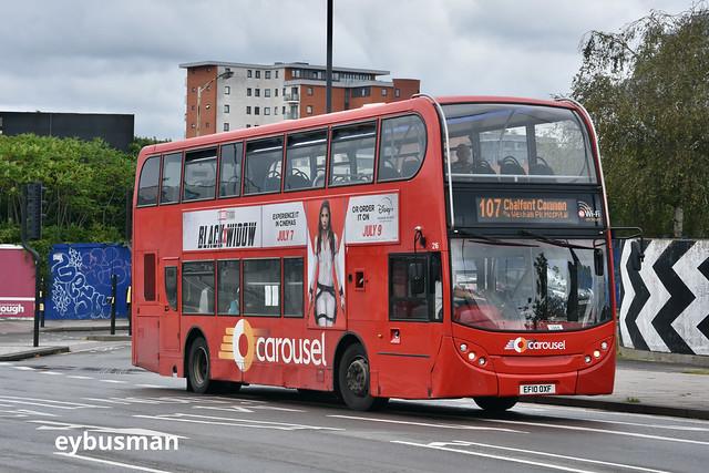 Carousel Buses 216, EF10OXF.