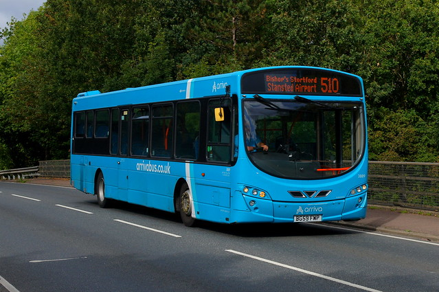 The Only Exception: Arriva Harlow Volvo B7RLE/Wright Eclipse 2 BG59FWP (3889) Church Road Stansted Mountfitchet 23/09/21