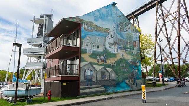 Murale - Marina de Cap Rouge, Québec, Canada - 07472