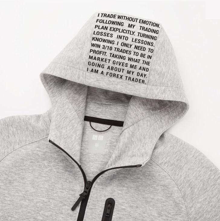 Trader Zip-Up Hoodie Hood Design